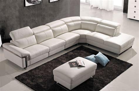 Canapé Lit Italien - canapé d 39 angle relax en cuir buffle italien de luxe