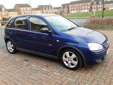 vauxhall corsa blue 2006 vauxhall corsa design twinport blue car for sale