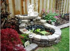 Very small garden pond Garden ponds Pinterest