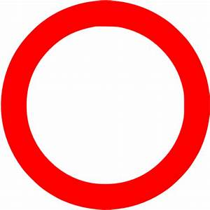 Red Circle Outline - ClipArt Best