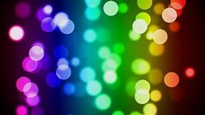 Colorful Bokeh HD Desktop Wallpaper | HD Desktop Wallpaper