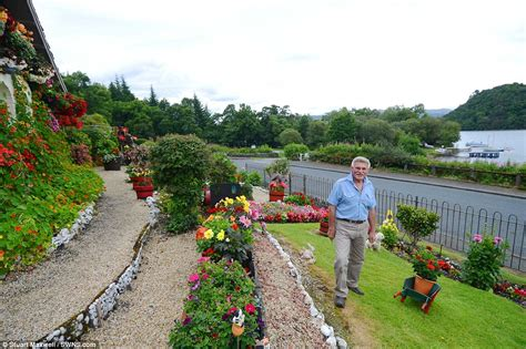 garden article loch lomond man turns garden into tourists attraction after 16 year transformation daily mail
