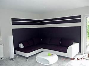 Wände Farblich Gestalten Beispiele : kreative wandgestaltung wohnzimmer ~ Markanthonyermac.com Haus und Dekorationen