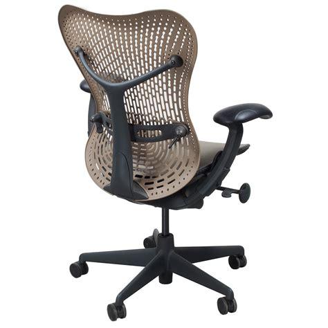 herman miller mirra used mesh airweave seat task chair