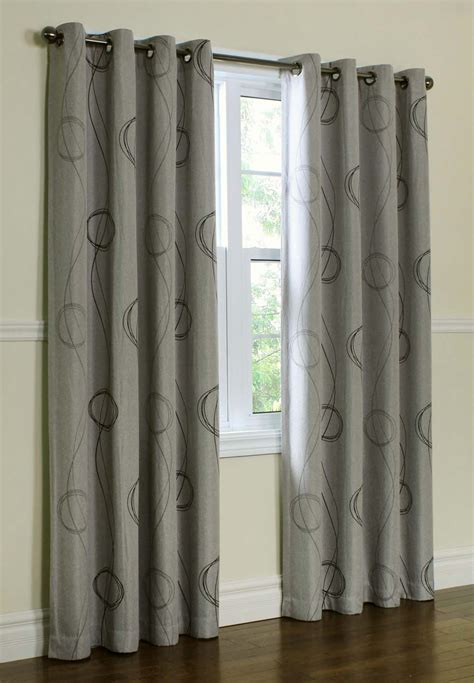 gray and white blackout curtains 25 x 96 inch blackout