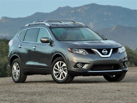 black nissan rogue nissan rogue 2015 black image 163