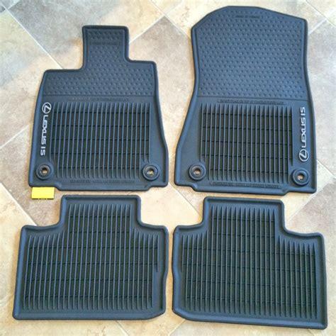 lexus floor mats 2014 lexus is 250 all weather floor mats drgnfenx mr2