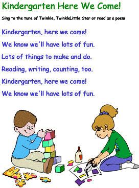 quot kindergarten here we come quot back to school song to the 903 | d140fc6abd7cfaa184389ebf82511564
