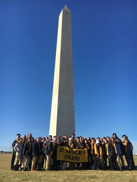 march life pilgrimage st anthonys high school