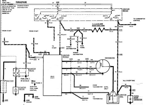 1984 Ford Ignition Wiring wiring diagram 1984 ford e 150 wiring diagram