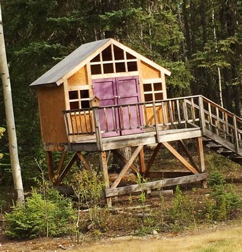 treehouse furniture ideas ana white build a craftsman style playhouse free and easy diy project and furniture plans