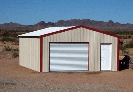 steel garage kit style workshop and garage