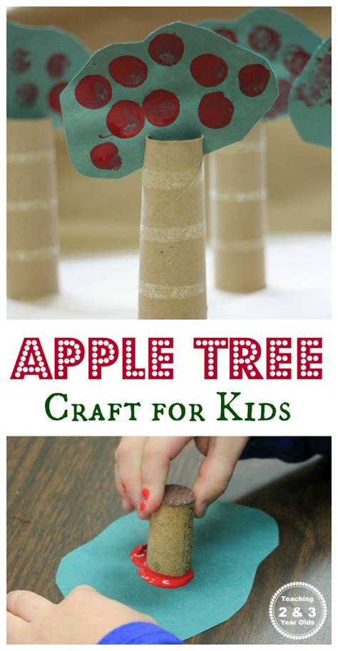 dimensional apple tree art  paper