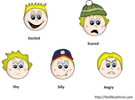 Feelings Clipart Feeling Clipart Child Emotion Pencil And In Color