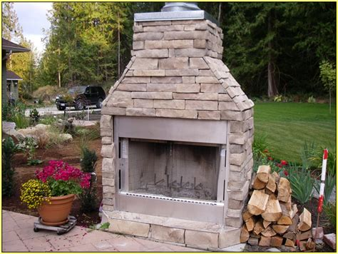 Metal Chiminea Lowes by Fireplace Diy Prefab Outdoor Fireplace For Your Outdoor