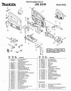 Makita Saw M432 User Guide