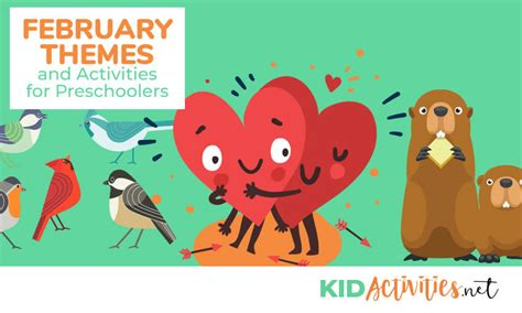february themes and activities for preschoolers kid 978   february themes activities for preschoolers