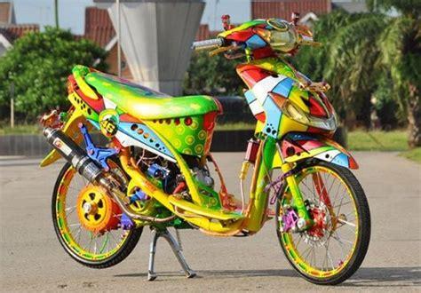 Motor Drag by 2019 Modifikasi Motor Drag Paling Keren Di Indonesia
