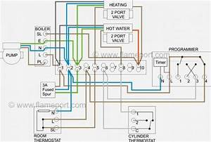 Honeywell 3 Port Valve Wiring Diagram  With Images