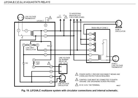 aquastat wiring diagram honeywell aquastat relay wiring diagram l8124l boiler 53
