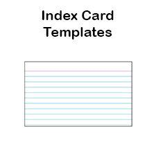 printable 4x6 index card template printable index card templates 3x5 and 4x6 blank pdfs