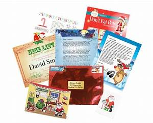 10 for deluxe personalized letter package plus a phone With personalized santa letter package