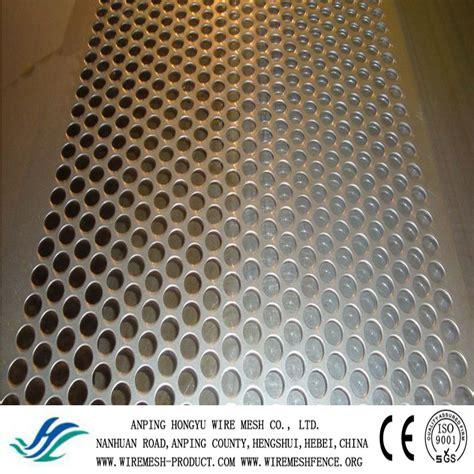 china lowes sheet metal 316l perforated metal decorative