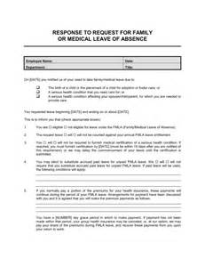 FMLA Employee Leave Request Form Template