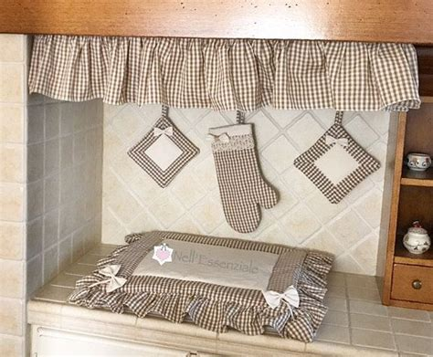 kitchen set  oven cover fire cover oven glove curly pot holders tende cortinas