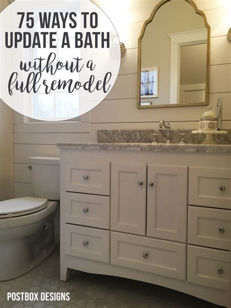 Design Your Bathroom Free by Design Jump Start Week 1 Free Guide 75 Ways To Update