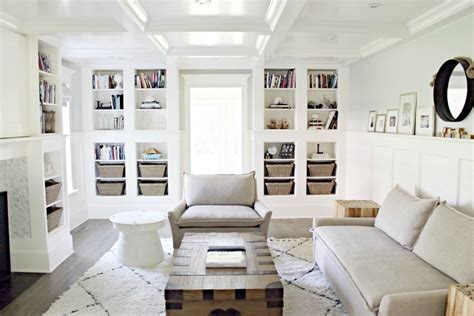 Modern Coffered Ceiling by Coffered Ceiling Built In Bookcase Living Room