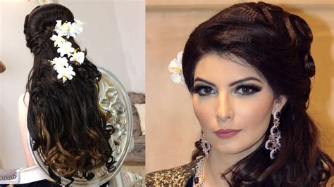 Luxurious Indian Wedding Reception Hairstyle I Need A Haircut That Suits Me Long To Short Bowl Brad Pitt World War Z Marine Haircuts Young Mens 2018 Low Maintenance For Thick Straight Hair When Should You Get Babies First Pretty