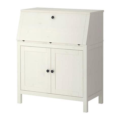bureau hemnes hemnes bureau white stain ikea