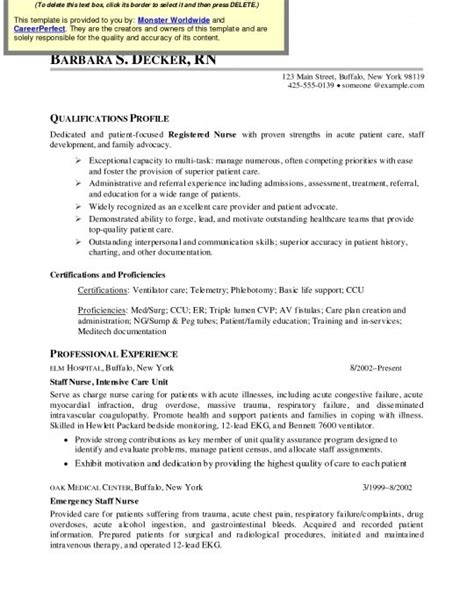 Med Surg Registered Resume by Med Surg Resume New Med Surg Rn Resume Resume