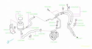 34610sa090 - Hose Assembly-power Steering  Tank  System  Maintenance  Preventative