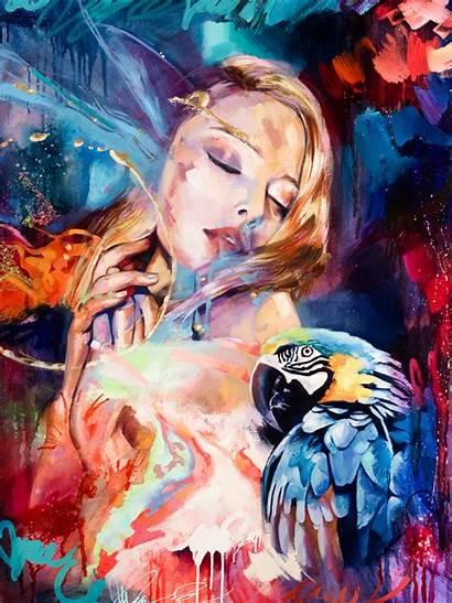 Milan Dimitra Painting Woman Oil Paintings Paint