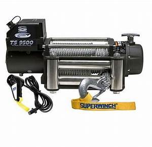 Superwinch 1595200 Tiger Shark 21  64 U0026quot X95 U0026 39  12 Volt Winch W