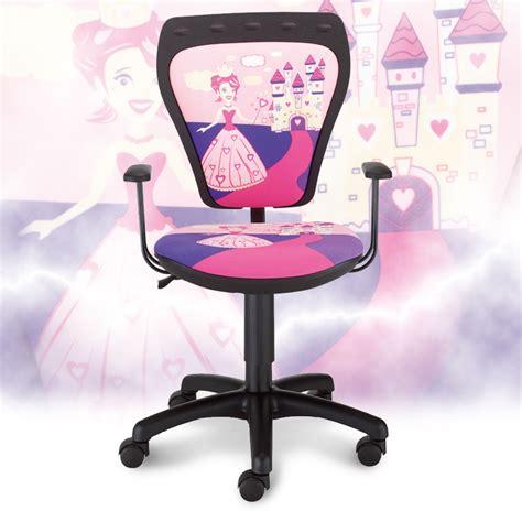 chaise de bureau fille enfants de chaise de bureau chambre princesse de fille