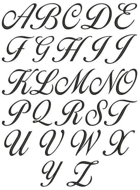 lettering uppercase alphabet google search cursive