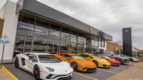 lamborghini opens  austin dealership luxury
