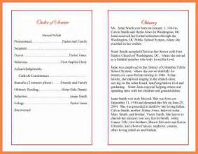 funeral bulletin template 4 funeral program wording invoice exle 2017