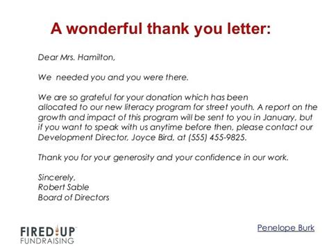 thank you for your donation letter thank you for your donation letter thank you letter for 8730