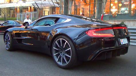 Aston Martin One 77 Sound Revving V12 Exhaust Revs 7,3l