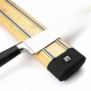 Magnetleiste Messer Holz : messer magnetleiste magnet messerhalter messerleiste holz bambus 36 cm magnete f r den ~ Sanjose-hotels-ca.com Haus und Dekorationen