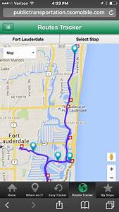 Fort Lauderdale Water Taxi Launches New Gps Tracking App
