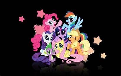 Mlp Background Ponies Pony Wallpapers Desktop Magic
