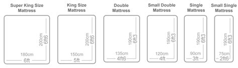 size of mattress bed sizes uk gt gt save up to 47