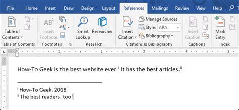 footnotes  endnotes  microsoft word