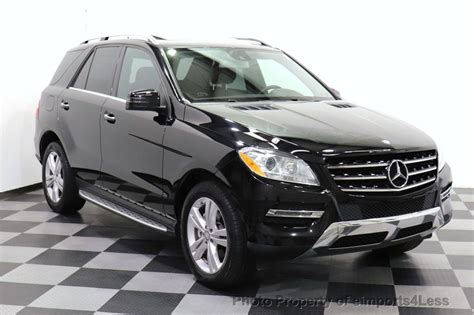 Your actual mileage will vary depending on how you drive and maintain your vehicle. 2015 Used Mercedes-Benz M-Class CERTIFIED ML350 4Matic AWD SUV BLIS / CAMERA / NAVIGATION at ...