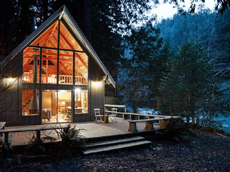 cottage rental northern california redwoods cabin rental
